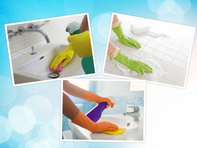 აბაზანის დასუფთავება